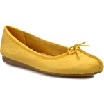 Baleríny CLARKS - Freckley Ice 261059514 Honey Nubuck