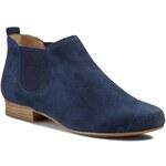 Kotníková obuv s elastickým prvkem CAPRICE - 9-25300-24 Ocean Suede