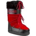 Sněhule LOVE MOSCHINO - JA24202G0JJQ150A Černá Červená