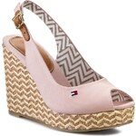 Espadrilky TOMMY HILFIGER - Emery 62D FW56818549 Dusty Rose 615