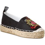 Espadrilky LOVE MOSCHINO - JA10103G0KJQ0000 Canvas Nero