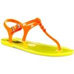 Žabky LOVE MOSCHINO - JA16381G0KJN140A Oranžová Žlutá