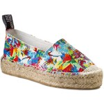 Espadrilky LOVE MOSCHINO - JA10093G0KJE0100 Can. St. Jungle Biana