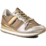 Sneakersy TOMMY HILFIGER - DENIM Land 1C EN56818749 Gold 76