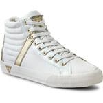 Sneakersy GUESS - Kate FL3KAE LEA12 WHITE