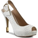 Sandály GUESS - Haileey FL2HEE LEP07 WHITE
