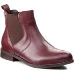 Kotníková obuv s elastickým prvkem LASOCKI - 70609-01 Bordó