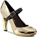 Polobotky UNITED NUDE - Lo Res Pump 100292221 Gold Chrome