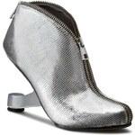 Polokozačky UNITED NUDE - Eamz Zip Bootie 1006714146 Silver