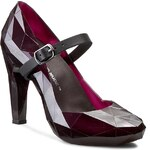 Polobotky UNITED NUDE - Lo Res Pump 100293321 Burgundy