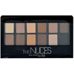 Maybelline The Nudes Eyeshadow Palette 9,6g Oční stíny W Paletka očních stínů