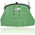 Zelená kabelka Anna Smith Bow