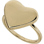 Topshop Smooth Heart Midi Ring