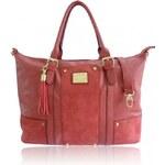 Korálově červená kabelka LYDC London Ealing