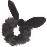 Topshop Faux Fur Bow Scrunchie