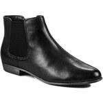 Kotníková obuv s elastickým prvkem CLARKS - Lolly Dawson 261022924 Black Leather