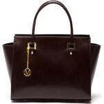 Elegantní kožená kabelka MANGOTTI 382 Testa Di Moro