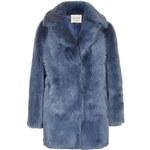 Topshop **Premium Blue Sheepskin Coat