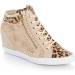 Guess Patty Leopard Printed Sneaker