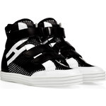 Hogan Rebel Mesh High-Top Sneakers