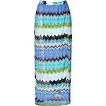 Missoni Mare Zigzag Knit Maxi-Skirt