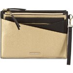 Kabelka TOMMY HILFIGER - Rachel Pouch In Pouch M AW0AW01420 Black/Gold 902