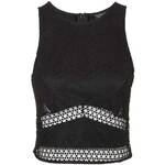 Topshop Lace Cutwork Shell Top