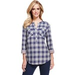 Marks and Spencer M&S Collection Pure Cotton Double Face Checked Shirt