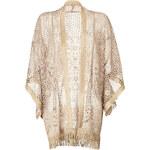 Anna Sui Crochet Knit Kimono