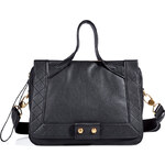 Marc by Marc Jacobs Leather Tote with Quilted Trim