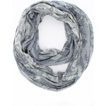 Marks and Spencer M&S Collection Lightweight Faux Snakeskin Print Snood Scarf