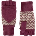 Marks and Spencer M&S Collection Knitted Bouclé Fingerless Gloves with Angora
