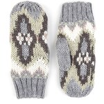 Marks and Spencer M&S Collection Fair Isle Mittens with Wool