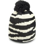 Marks and Spencer Limited Edition Lightweight Animal Print Knitted Bobble Hat