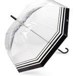 Marks and Spencer M&S Collection Striped Walker Umbrella