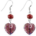 Marks and Spencer M&S Collection Heart Drop Earrings
