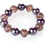 Marks and Spencer M&S Collection Swirl Bead Stretch Bracelet