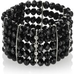 Marks and Spencer M&S Collection Multi-Faceted Bead & Diamanté Stretch Bracelet