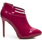BELLE WOMEN Kotníkové boty červené Velikost: 38