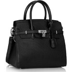 LS Fashion kabelka LS00140 černá