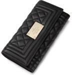 Luxusní kožená dámská peněženka Nucelle černá