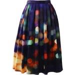Chicwish midi sukně Neonová světla