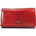Dámská kožená peněženka Loren Stela - červená