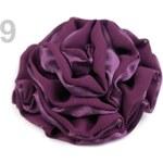 Růže do vlasů Ø 90mm LILY (1 ks) - 9 fialová švestka Stoklasa