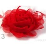 Růže monofilová Ø120 mm (1 ks) - 3 červená Stoklasa