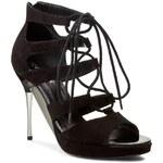 Sandály ANN MEX - 7213 01W Černá