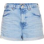 Topshop MOTO Blue Rosa Hotpants