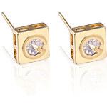 LightInTheBox Jian Feng Unique Design Zircon 18K Gold Plating Stud Earrings ERZ0182