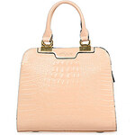 LightInTheBox Miyue Women's Elegant Crocodile Pink Bag