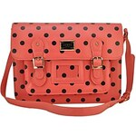 LightInTheBox Polka Dot Briefcase School College Satchel Messenger Shoulder Bags
